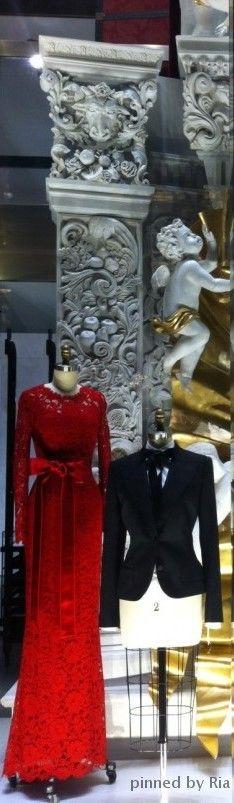 Dolce & Gabbana Window Display l Ria