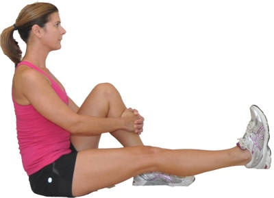 Image result for Straight Leg Raise sitting against a wall