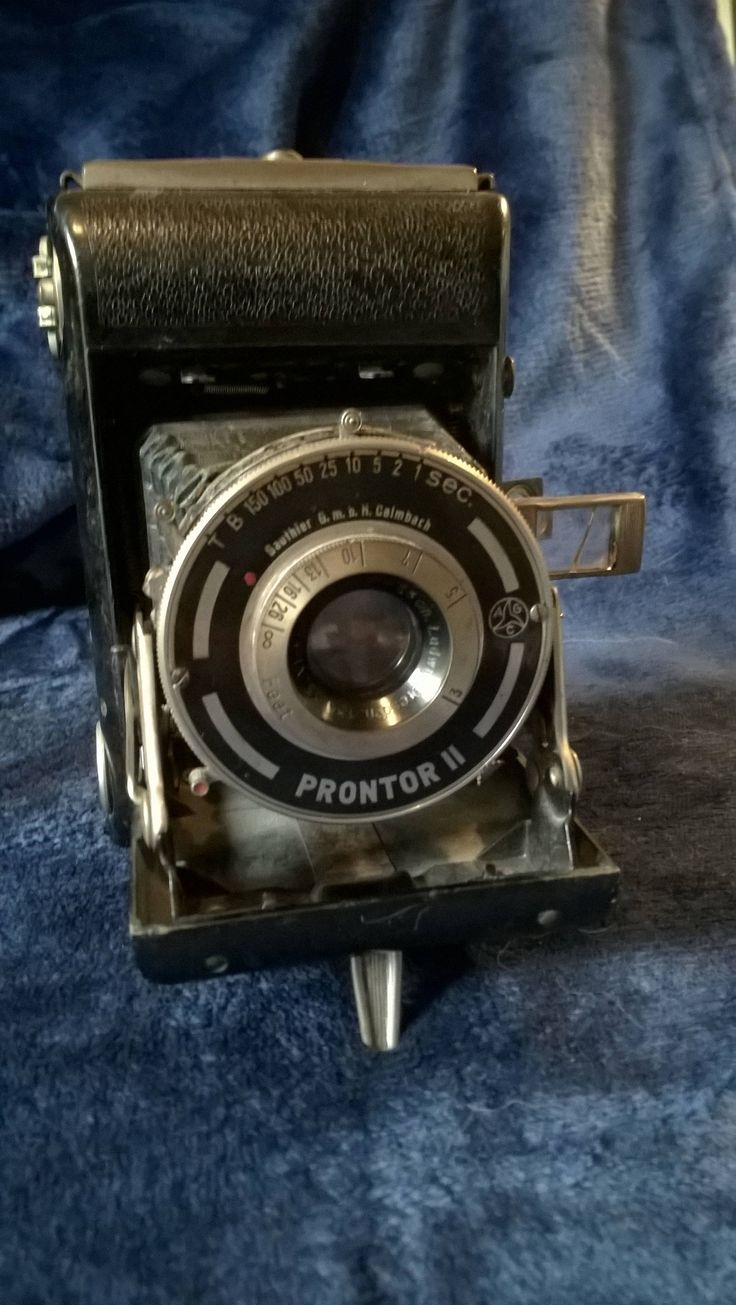Prontor II Gauthier Camera, Vintage Camera, Vintage Lens, Photography, Collectibles, Display Piece, 1930s, Folding Camera, Gift Idea, German by TillyofBloomsbury on Etsy