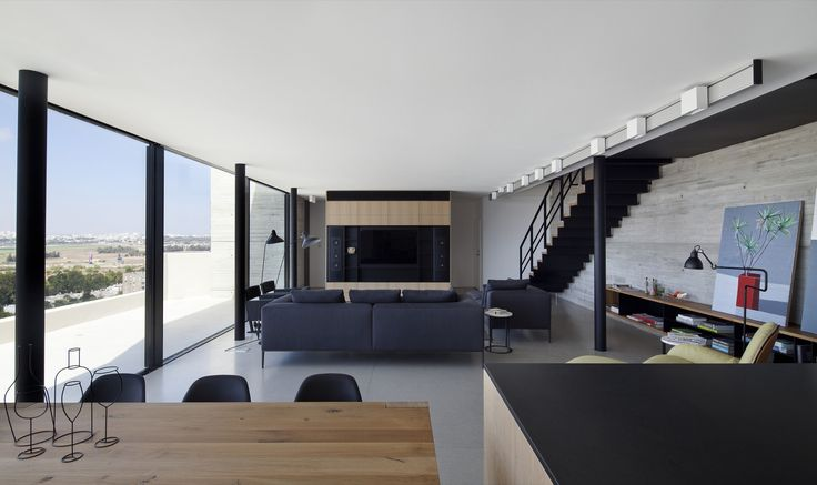 Gallery of Y Duplex Penthouse / Pitsou Kedem Architects - 4