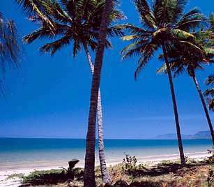 Port Douglas, Australia. I going to be sitting on this beach, in a beach chair with my feet in the sand and a Cascade beer in my hand in March 2015!