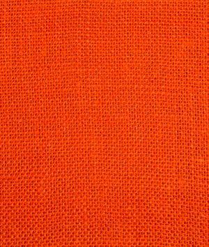Banner -- $5.25/yd; Tangerine Sultana Burlap Fabric - $5.25 | onlinefabricstore.net
