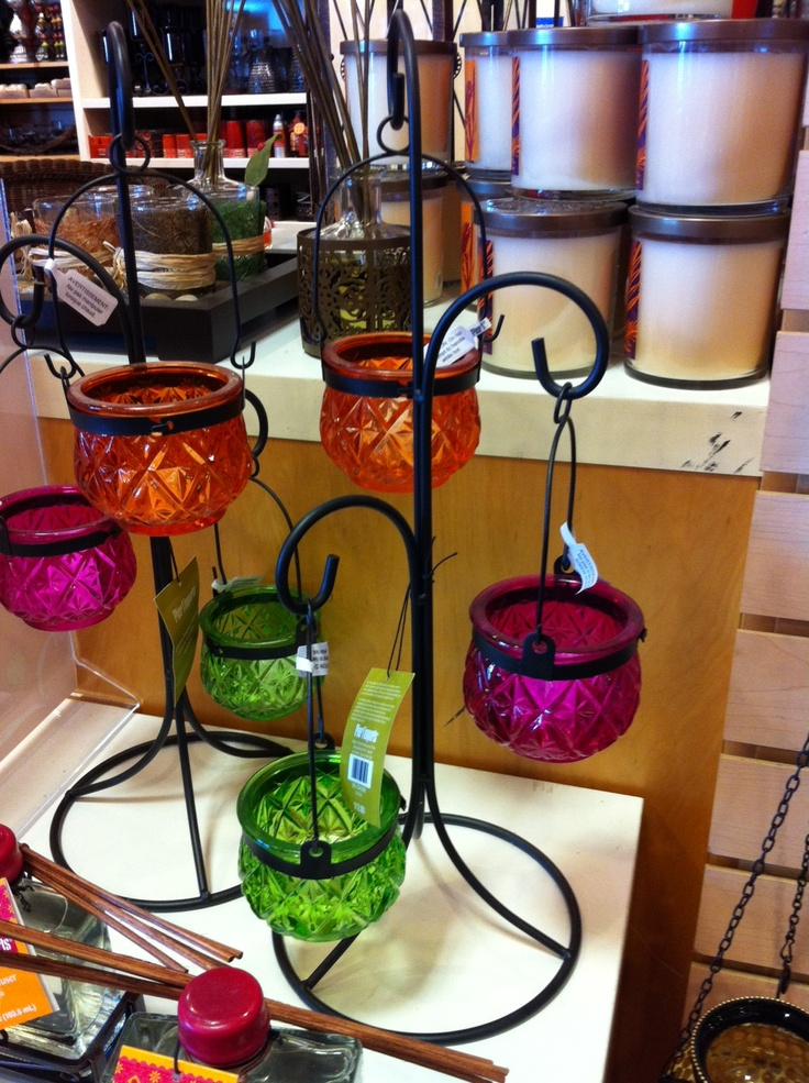 Pier 1 Hanging Lanterns with Stand