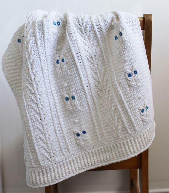 Knitting Pattern Baby Boy Blanket : Best 25+ Owl baby blankets ideas on Pinterest Owl afghan, Baby blanket patt...