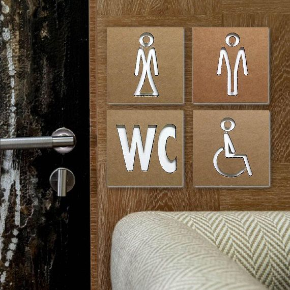Pin On Toilet Signs