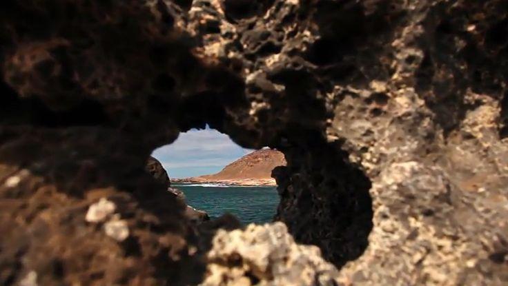 Confital, salitre y volcán. Vídeo de Gino Maccanti
