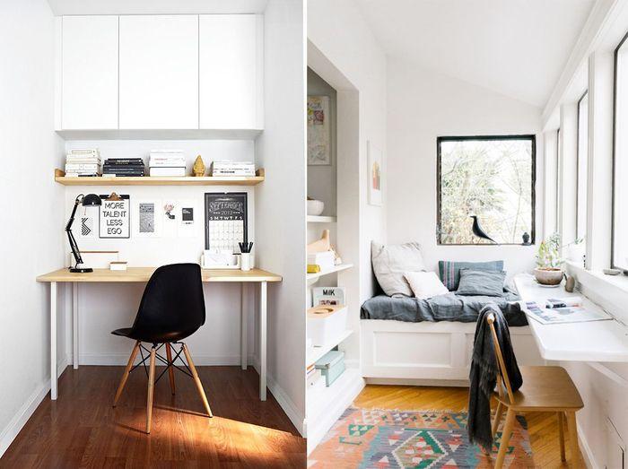 Как обустроить рабочее место дома, если на счету каждый сантиметр: 23 примера – Вдохновение