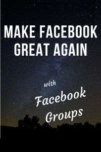 Facebook group administrators