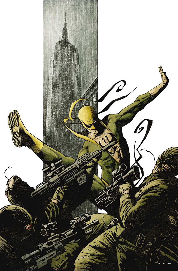 THE IMMORTAL IRON FIST #2  - By David Aja