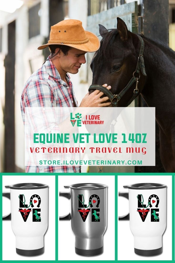 Equine Vet Love 14oz Travel Mug in 2020 Gifts for
