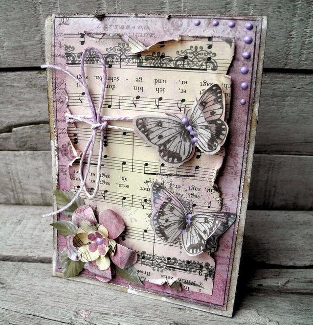 Картинки самый, скрап открытка с бабочкой