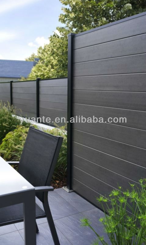 Hot seller eco-friendly wpc fence,wood plastic composite/wpc fence boards,wpc garden fencing $72~$78