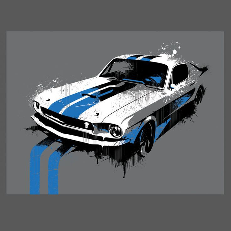 IROK — Mustang 9x12 Limited Edition Print