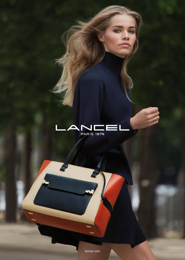 Kirstin Kragh Liljegren by Patrick Demarchelier for Lancel S/S 2014 _