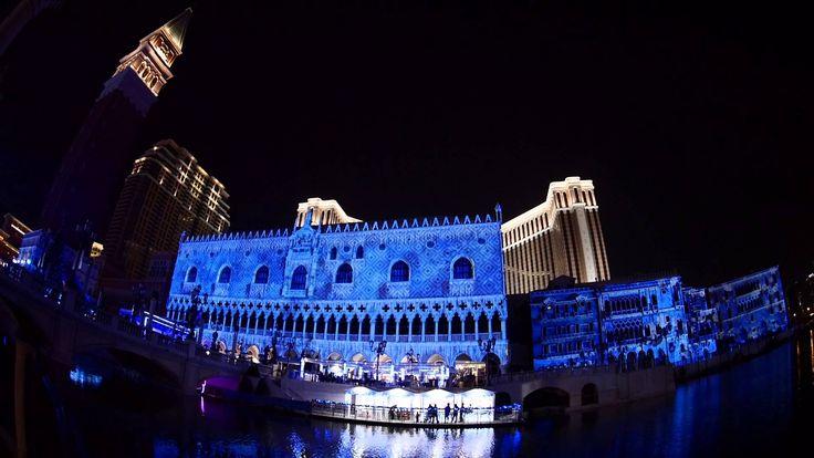 冬日威尼斯 2013 Video Mapping in Macau