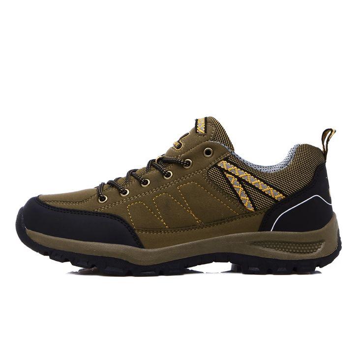 32.50$  Watch here - http://ali2ti.shopchina.info/go.php?t=32724357910 - 2016 Cheap Waterproof Walking Boots Men Climbing Shoes Hiking Boots For Men Rock Climbing Sneakers Sude Shoes Men Trekking  #buyonlinewebsite