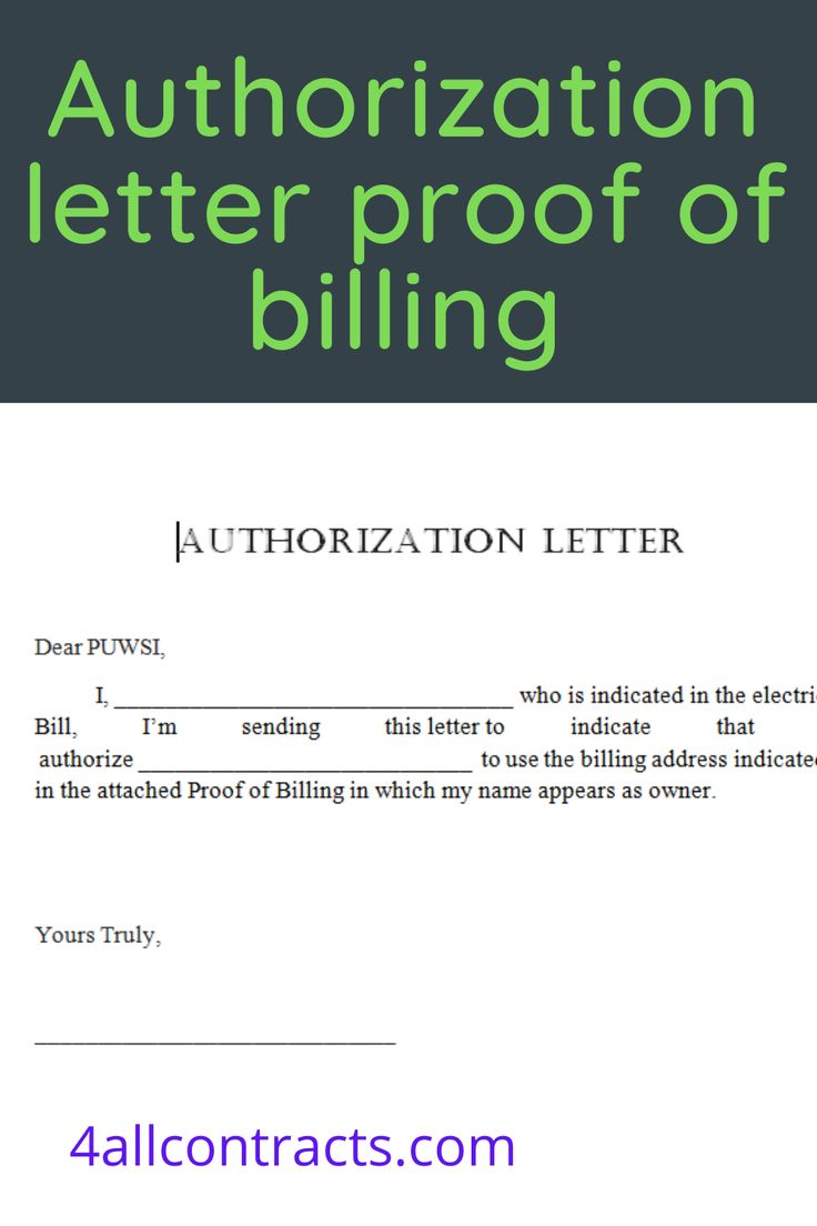 Sample Authorization Letter To Use Proof Of Billing Address In 2021 Lettering Bill Template Word Doc Corporate resolution authorized signers template