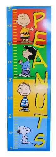 PEANUTS Growth Chart - Featuring Snoopy, Charlie Brown, Lucy & Linus Peanuts http://www.amazon.com/dp/B002HANAPS/ref=cm_sw_r_pi_dp_UX7jwb1VHQW05