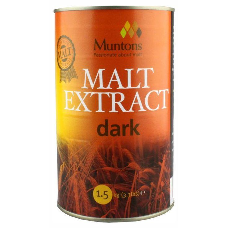 Muntons Extra Dark Plain Malt Extract 1.5 kg  Produs de ce mai buna calitate. S-a folosit cel mai bun orz din zona fabricii Muntons in Cedars Maltings, Stowmarket. Cele mai proaspete ingrediente.  Substanta solida: 80-82% Culoare EBC: 40-60