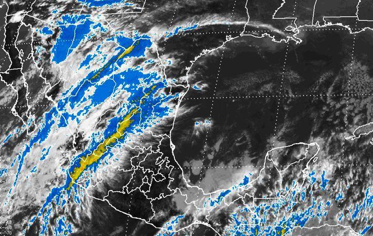 Frente frío número 14, alerta roja, temperaturas bajo cero y tormentas #ConEsteFrío #Heladas #México #CDMX #SMN #Precaución #FelizLunes #Clima #Nieve #Puebla #Frío #MapaFrentefrñio