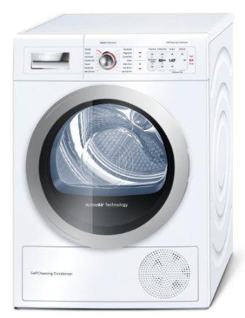 Bosch WTY87701 Wärmepumpentrockner / A++ / 8 kg / Weiß / Selbstreinigender Kondensator / Anti Vibration: Amazon.de: Elektro-Großgeräte
