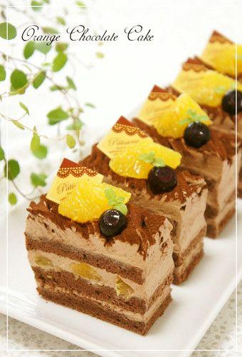 Orange Chocolate Mont Blanc Shortcake