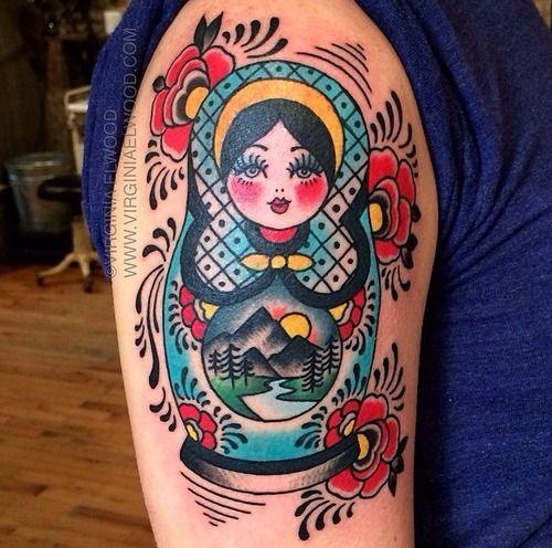 Pin By Christine Jarmer On Tats I Like: 25+ Best Ideas About Babushka Tattoo On Pinterest