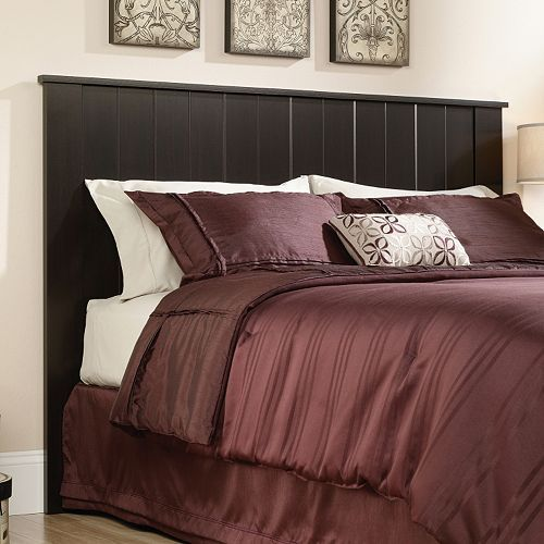 Give your bedroom decor a stylish upgrade with this Sauder Shoal Creek  full queen headboard. 32 best Beds images on Pinterest   Master bedrooms  Headboards
