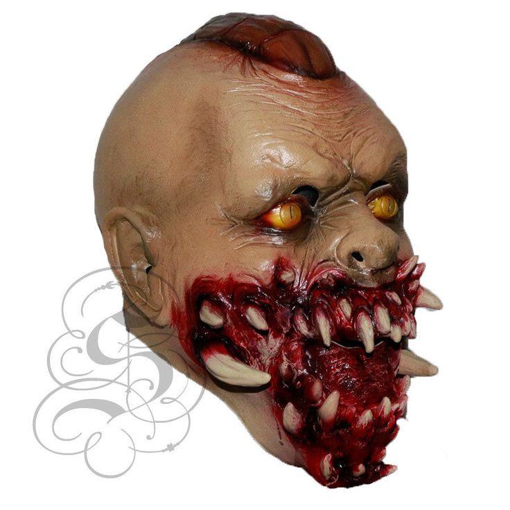 Halloween Gruesome Death Demon Vampire Devil Horror Dress Up Latex Party Masks Website : http://stateoflatex.uk