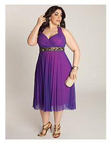 Plus Size Purple Wedding Dresses