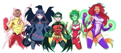 Teen Titans Rebirth - Luciano Vecchio