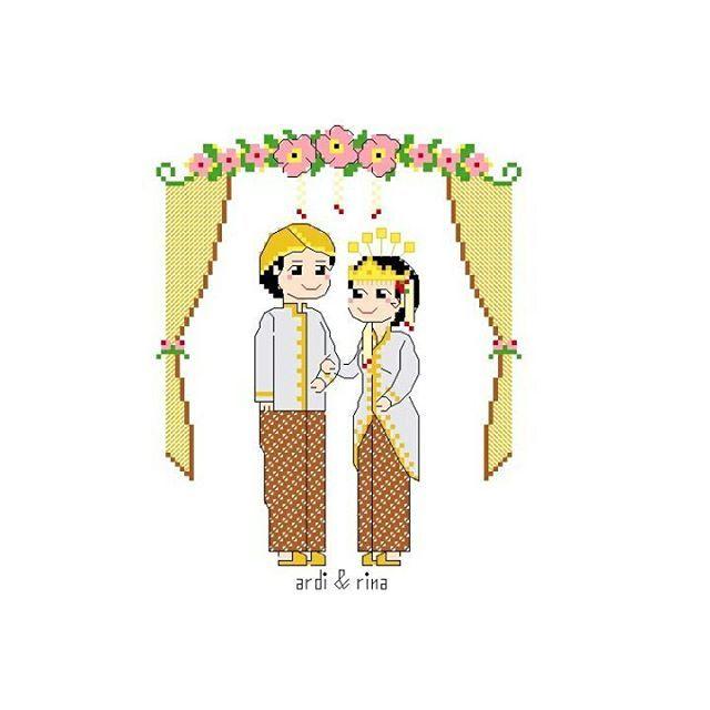 . . Paket Kristik Sundanese Wedding . . Paket kristik yang terdiri dari pola, kain, benang, jarum dan panduan . Ukuran 15*18cm/80W*100H Terdapat pola alfabet dan angka untuk membuat nama dan tanggal. Harga Rp 85.000 Pengiriman dari Jogja Kontak WA 087839244944 . #kristik #kristikindonesia #paketkristik #ideakristik #kristikpernikahan #sulam #kerajinan #jahit #polakristikpernikahan #kristikonline #pernikahan #kadounik #dekorasi #pernikahansunda #adatsunda #pernikahanadatsunda…