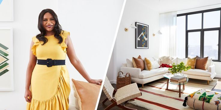Mindy Kaling Just Revamped Her NYC Apartment, And It's Beautiful - ELLEDecor.com
