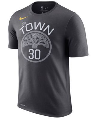Nike Men's Stephen Curry Golden State Warriors Name & Number Player T-Shirt - Silver XXL