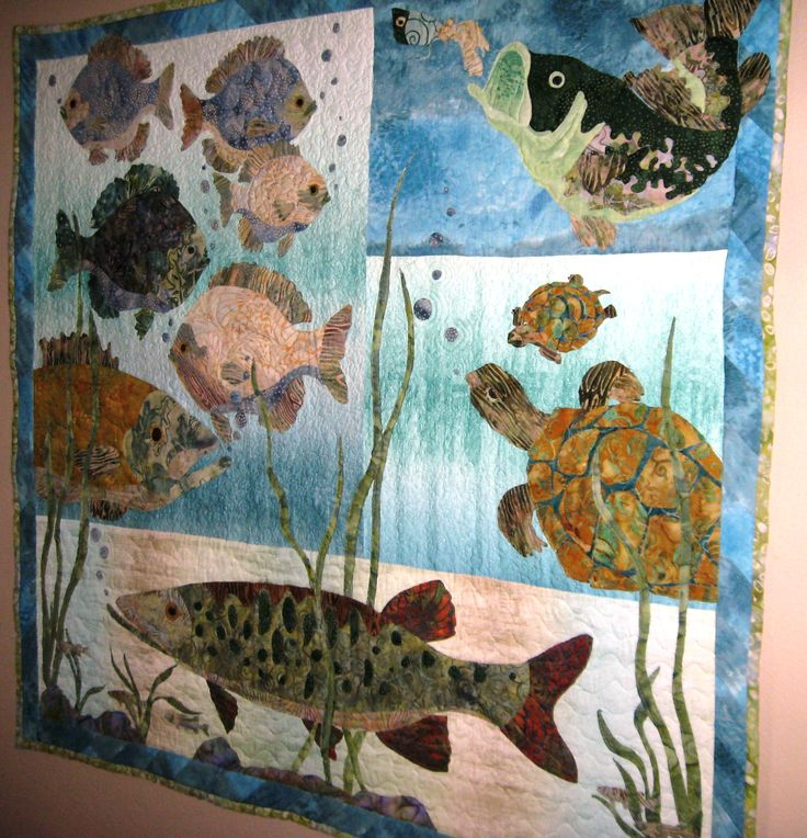 10 best ideas about fish quilt on pinterest quilt for Fish pattern fabric