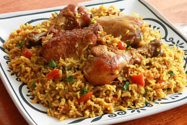 Chicken Machboos (Bahraini Spiced Chicken and Rice) replace garlic with garlic infused oil and spring onion for onion and you have a low fodmap dish