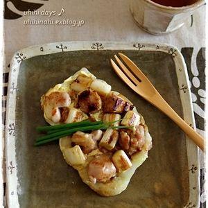 鶏ネギの餅ピザ 柚子胡椒マヨ♪+by+うひひさん+|+レシピブログ+-+料理ブログのレシピ満載! ++ 正月用の餅、1㌔入りを購入したら、 なかなか無くならない~! で、餅ピザを作ってみました。 レシピ+1人分 餅+++1個 鶏もも肉+80g ネギ+++白いところ12cmくらい 細ネギ++1/2本...