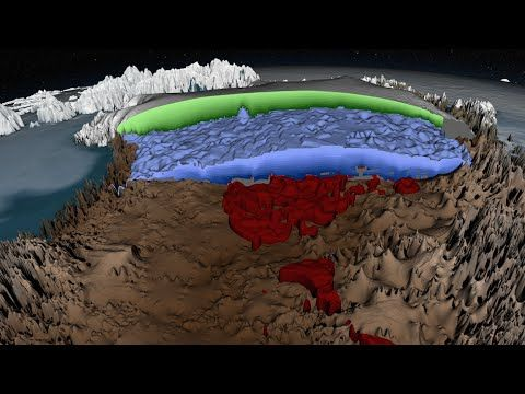 Greenland's Ice Layers Mapped in 3D: The Greenland Ice Sheet, covering an area three times the size of Texas, is the second biggest chunk of ice on the planet. The Greenland Ice Sheet has enough frozen water locked up to raise worldwide sea levels by 20 feet—and it's been losing mass over the past 20 years. Global warming isn't predicted to stop any time soon, so scientists really want to know what's going to happen to the ice in the near and distant future.