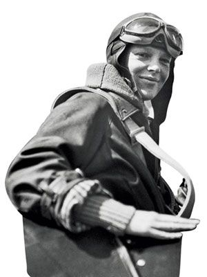 Amelia EarhartThe first woman to fly across the Atlantic tragically disappeared in 1937 on what was meant to be a globe-circling flight. She accomplished a larger mission, dramatically expanding the world's notions of how high a woman can soar.