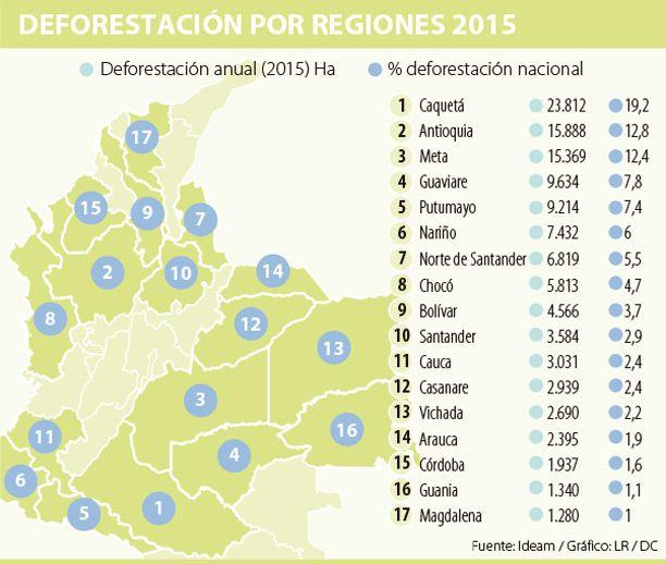 Economías ilegales originaron 38% de la deforestación el año pasado