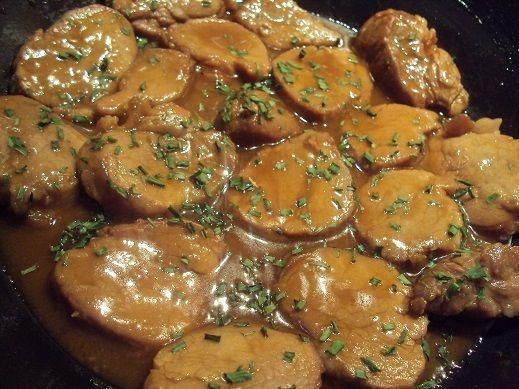 Filet mignon de porc au soja et miel