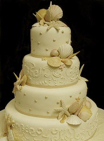 #weddingcake #wedding beach
