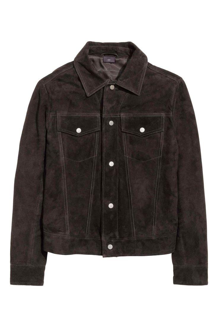 H&M Suede Jacket AW15/PREMIUM QUALITY