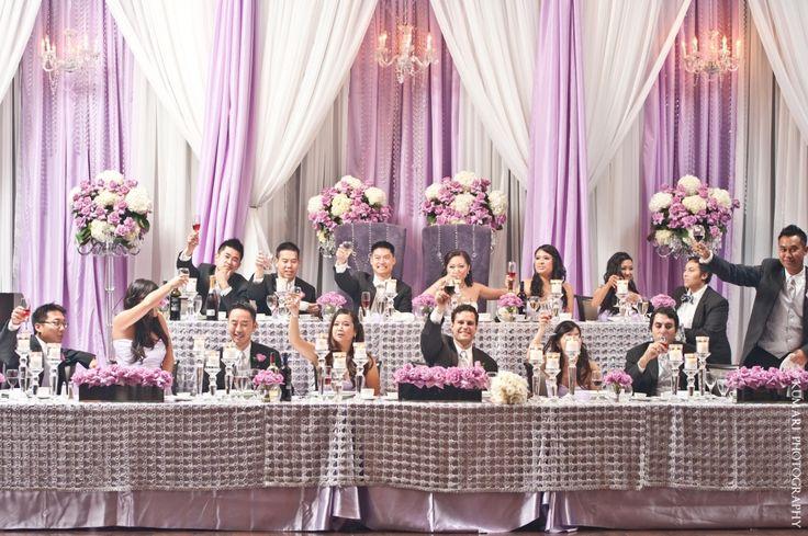 "Head Table Decorations Wedding Reception Wedding Dress: ""Head"" Table"