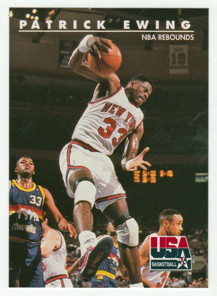 Patrick Ewing # 27 - 1992 Skybox USA Team Basketball