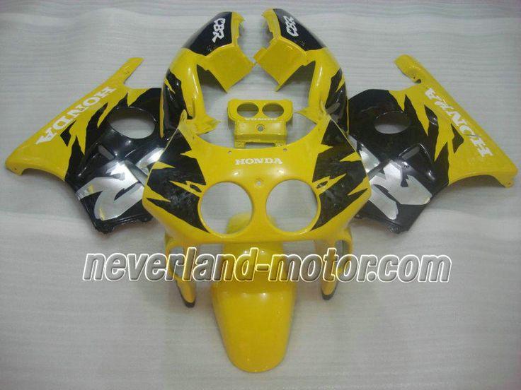 Carenado de ABS de HONDA CBR 250RR MC22 1991-1998 - Amarillo/Negro