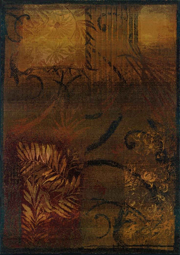 Sphinx By Oriental Weavers Kharma Ii Collection 1163B Casual Brown Rug