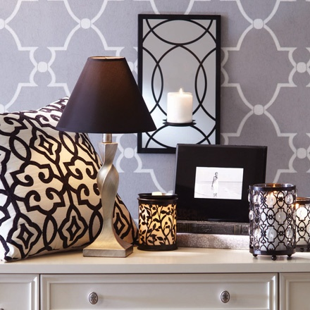 Mix your metals to bring interest to a room.