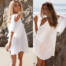 Womens Swimwear Beachwear Bikini Beach Wear Cover Up Kaftan Summer Maxi Dress