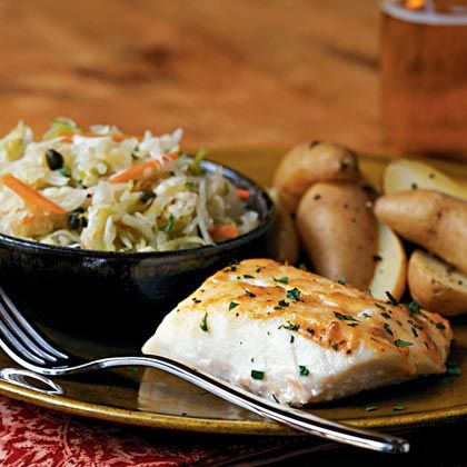 The mildness of cod takes well to bold flavorings such as Dijon mustard and Creole seasoning. Lemon juice, added after cooking, brightens...